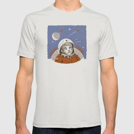 Soviet Space Cat T-shirt