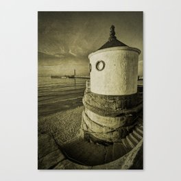 Whitby Round House Canvas Print