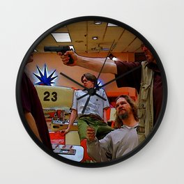 Mark It Zero inspired by the Big Lebowski Wall Clock