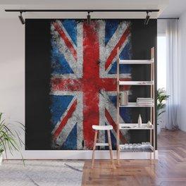 Great Britain grunge flag Wall Mural