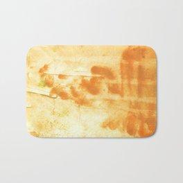 Blond abstract watercolor Bath Mat