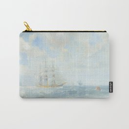 Wild Is The Wind - Cutty Sark - Maritime Painting Carry-All Pouch