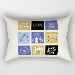 Hygge Holidays Rectangular Pillow