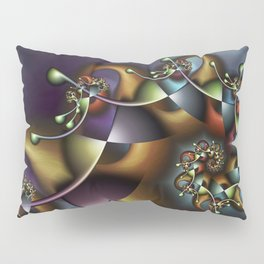 The Joker Multicolored Fractal Spiral Pillow Sham