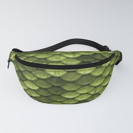 Mermaid Scales | Green with Envy Fanny Pack