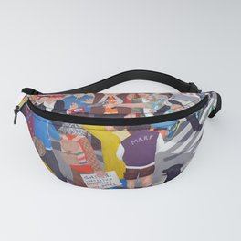 The colourful Assassination of Donald Trump in New York City Fanny Pack