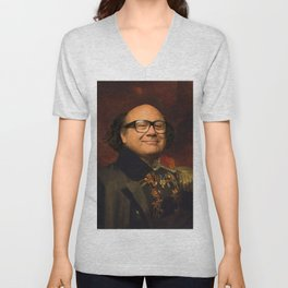 Danny Devito Classical Regal General Painting Unisex V-Neck