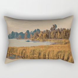 Rondeau Provincial Park Rectangular Pillow