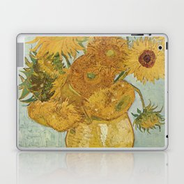 Still Life: Vase with Twelve Sunflowers Laptop & iPad Skin