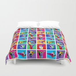 Maggie Warholed Duvet Cover