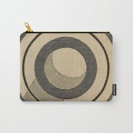 Vintage Saturn From Above Carry-All Pouch