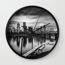 Dismal City Wall Clock