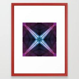 """""""X"""" Framed Art Print"""