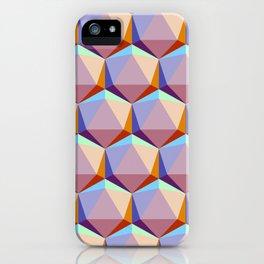 Icosahedrons iPhone Case