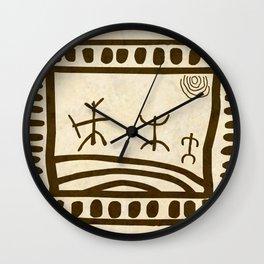 Ethnic 3 Canary Islands Wall Clock
