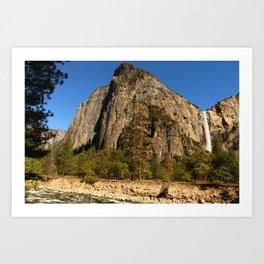Peaceful Yosemite Valley Scene Art Print
