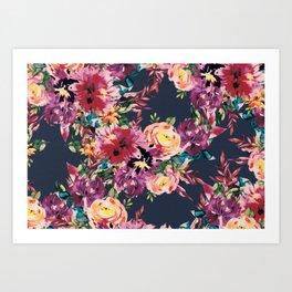 Secret Blooms Art Print