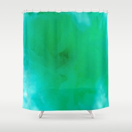 Textures (Green version) Shower Curtain