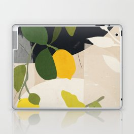 Lemon Abstract Art Laptop & iPad Skin