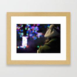 Colorful Lights  Framed Art Print