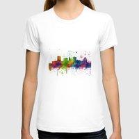 baltimore T-shirts featuring Baltimore Skyline by Marlene Watson