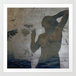 Persephone - Air & Sea Art Print