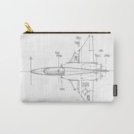 aeronave01 Carry-All Pouch