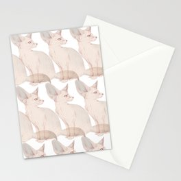 Fennec Stationery Cards