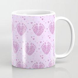 Baby feet background 4 Coffee Mug