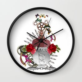 Fish Dream by Lenka Laskoradova Wall Clock