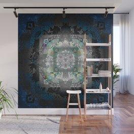 Enchanted Gothic Shadow Meditation Mandala Wall Mural