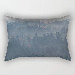 Hazy Layers Rectangular Pillow