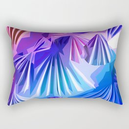 Funky Shell Texutre Rectangular Pillow