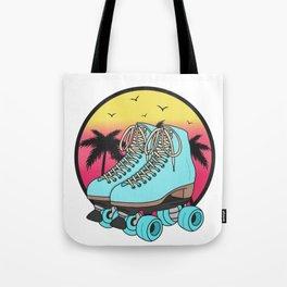 Retro roller skates Tote Bag
