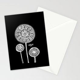 White Flower 136 Stationery Cards