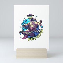 Need Space Mini Art Print