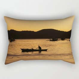 Tranquil Coron Rectangular Pillow