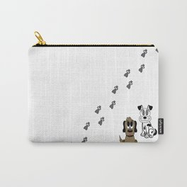 Dogs and Puppy Paws Carry-All Pouch