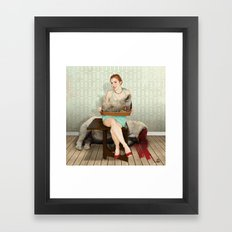 The Meal Framed Art Print