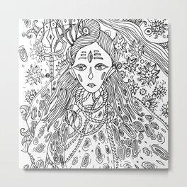 Young Shiva Metal Print
