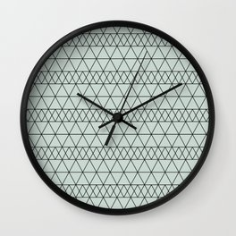 Simple Geometric Lines Conch Wall Clock