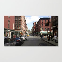 Little Italy, NYC Photo Canvas Print