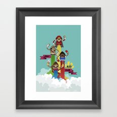Street Fighter 25th Anniversary!!! Framed Art Print