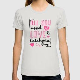 Catahoula Cur Saying T-shirt