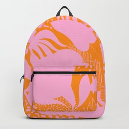 Sunny Tropical Cocktail #tropicalvibes #pattern Backpack