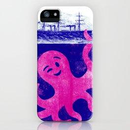little Kraken  iPhone Case