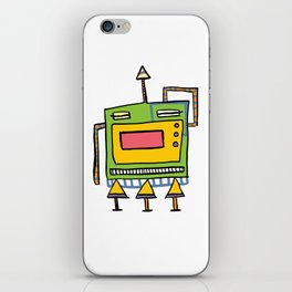 Mr. E. Zee Going iPhone Skin