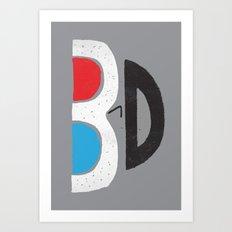 I Like It 3D Art Print