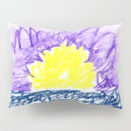 here comes the sun III Pillow Sham