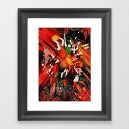 All Start Game Chaos Framed Art Print